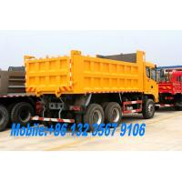 Quality Cummins 260HP Heavy Duty 30T 6x4 10 wheel off-road dump truck STQ3256L for Peru for sale