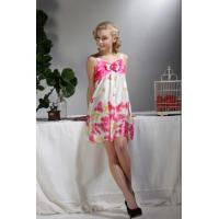 China Ladies Summer Sexy Satin Nightgown A11021 on sale