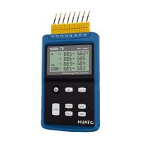 China High Precision 8 Channel Thermocouple Data Logger Large LCD Display With Back Light on sale