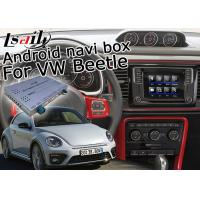 Quality Volkswagen Beetle GPS Navigation Video Interface Android System With Google App for sale