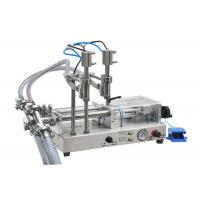 Quality Essential Oil Filling Machine / Bottling Machine 50-5000ml Bottles Without Drop for sale