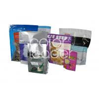 Quality 80 Micron PE Animal Feed Packaging For Bird / Cat / Dog Food for sale