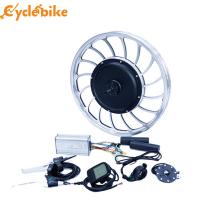 Buy cheap 40-45 Km / H Electric Bike Kit Front Wheel Gearless Hub Motor 48 Voltage from wholesalers