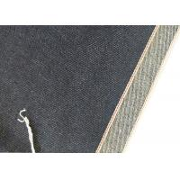 Buy cheap 11.43oz 36.7 Inches Indigo Selvedge Denim 68*48 Jeans Fabric Online W190202 from wholesalers