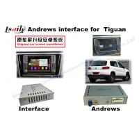 Quality Interface Gray Car Navigation Box For 2014- Volkswagen Tiguan Ect 3G Wifi Android System for sale