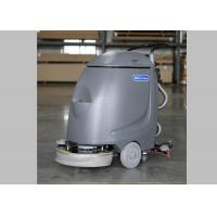Buy cheap Hand Push 17 Inch Single Brush Compact Floor Scrubber Machine For Slick Floor from wholesalers