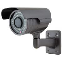 Buy Black HD Color IR Bullet Security Camera 600tvl , Day Night For Outdoor at wholesale prices