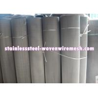 Quality Plain / Twill Dutch Weave Stainless Steel Filter Wire Mesh With Mesh 50 - 3600 for sale