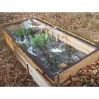 Quality Warm green house(HX75114G) aluminium frame with polycarbinate sheet cover for sale