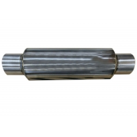 """Quality 4"""" Diameter 10"""" Body 2.5"""" Small Car Exhaust Resonator Stainless Steel for sale"""