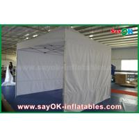 China Portable Custom Outdoor Silk Screen Printing Advertising Folding Steel Frame Tent on sale
