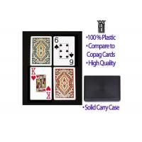 Quality Poker Scanner Recyclable Marked Plastic Paisley Kem Arrow Playing Cards for sale