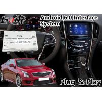Quality Android 6.0 Multimedia Video Interface for Cadillac ATS / SRX 2014-208 CUE System , Car GPS Navigation Plug and Play for sale