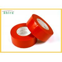 Quality 30 Day Red Stucco Making Tape Natural Rubber Adhesive Stucco Tape for sale