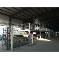 Quality EPS Cement Powder And Mgo Powder Sandwich Panel Machine , Wall Panel Production Line for sale