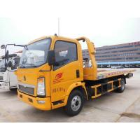Quality Medium Duty Flatbed Tow Truck , 5 Tons 24 Hour Tow Truck High Performance for sale