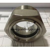 China NPT thread 2 inch stainless steel 316 observation oil level sight glasses OEM service no finishing on sale