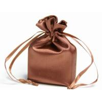 Quality Promotional Eco-friendly Satin Drawstring Bag For Gift Packaging for sale