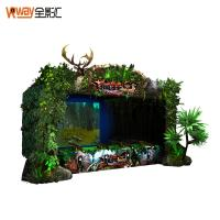 Quality 4D Crazy Motion Sensing Games Hunting Game Simulator Multiple Player Support for sale