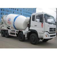 Quality 8X4 12CBM Ready Mix Concrete Mixer Truck , Dongfeng 12 Wheels Self Mixing Concrete Truck for sale