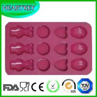 China Hippih Cartoon Shaped Candy Molds, Chocolate Molds, Soap Molds, Silicone Baking Mold with on sale