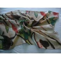 Quality Printed Cotton Scarf (LC-C117) for sale