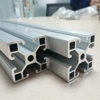 Quality Cold Drawn Aluminum Spare Parts Anodize T Slot Extruded Frame Profile Durable for sale