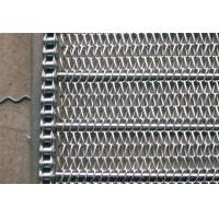 Buy cheap Honeycomb Metal Mesh Conveyor Belt Fire Retardant With 0.5mm- 4mm Wire Dia product