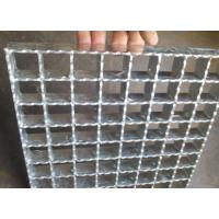 Quality Hot Rolled Serrated Steel Grating Galvanized Surface Light Weight for sale