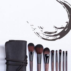 Quality Chinese Buddhist Style Goat Hair Eyeshadow Brush , Face Brush Set 15X23X3cm for sale