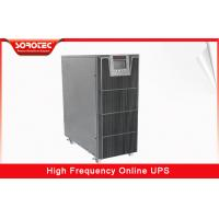 Quality 3 / 1 Phase 380VAC / 220VAC High Frequency Online UPS with 0.9 Power Factor , 10-20KVA for sale