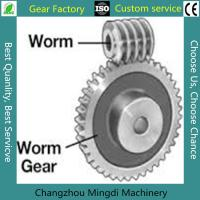 Quality Rosh/CE/ISO Spiral Bevel Gear Custom Worm And Worm Gear Set For Toys for sale