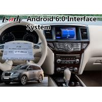 Quality Android 6.0 GPS Interface Multimedia Navigation for 2014-2018 Nissan Pathfinder for sale