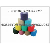 Latex - free Cohesive Hand Elastic Bandage , Self - adhesive Breathable Bandages