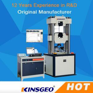 Buy cheap Electro Hydraulic Servo Function Universal Testing MachineS Computerized product