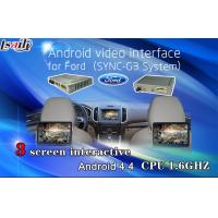 Quality Navigation Android Auto Interface / Rear car video interface for Ford , 800*480 resolution for sale