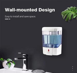 Quality Wall Mounted Waterproof No Touch Hand Sanitizer Dispenser for sale