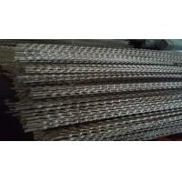 Quality Twisted Stainless Steel Heat Exchanger Tubes Nickels 200 201 Oval Steel Tube for sale
