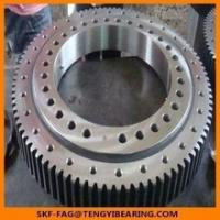 Quality Tower crane turnable slewing bearing 121.40.4500.990.41.1502double Row Axial/Roller Combination Slewing Bearing for sale