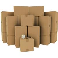 Buy cheap Strong Kraft Paper Custom Packaging Corrugated Cardboard Storage Boxes OEM / ODM product