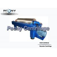 Continuous Decanter Centrifuge For Industrial Waste Water Treatment for sale
