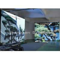 China 64 X 32 Dots Indoor Full Color LED Display 5mm Pixel Pitch Iron Cabinet For Church on sale