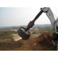 China New type vibro piling rig on sale