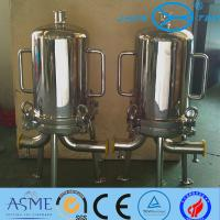 Quality 8R 9R Sanitary Filter Housing For Sugar Syrups Beer Final Filtration for sale