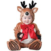 Quality Christmas Elk Infant Baby Costumes / Toddler Boy Christmas Outfits for sale