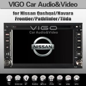 China Car Stereo Sat Nav multimedia for Nissan Patrol Tiida Altima Sentra Livina 350Z NP300 on sale