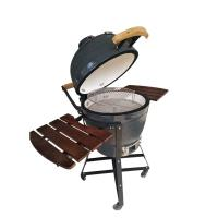 China 21 Inch Kamado Ceramic Outdoor Grill For Outdoor Indoor And Garden Parties on sale