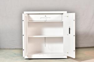 Quality 6mm Thick Steel Filing Cabinet Metal Safe Cabinet fingerprint lock for sale
