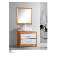 China Ready To Assemble Water Resistant Bathroom Cabinets Square Above Counter Basin on sale