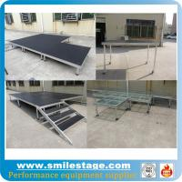 China Outdoor aluminum modular stage for pillars truss system on sale